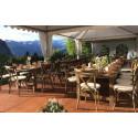 Location table bois Héritage pour mobilier de réception - Loca Réception