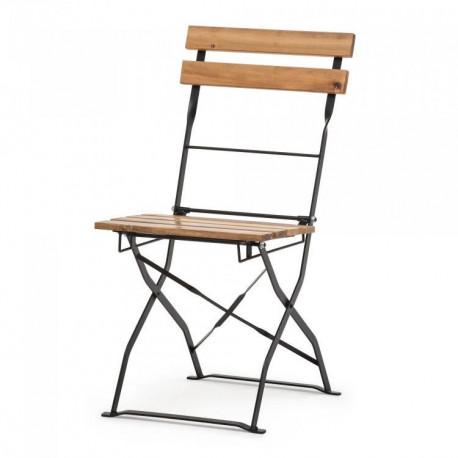 Location chaise latte bois pour réception - Loca Réception