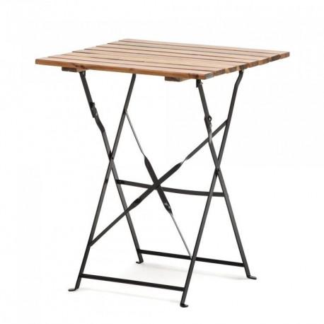 Location table et chaise bois latté loca reception