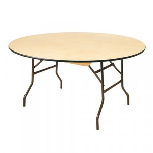 Table bois diamètre 170 cm