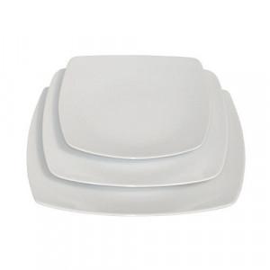 location assiette carrée zen pour vaisselle de réception