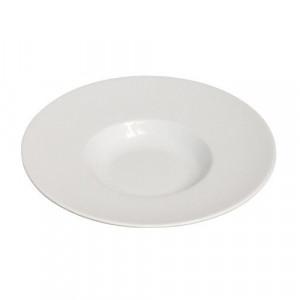 location assiette ronde creuse Roma pour vaisselle de réception
