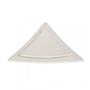 Location assiette triangle Trio pour vaisselle de réception