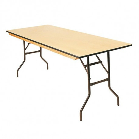 Table bois 160 x 80 cm