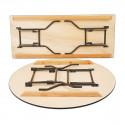 Table bois diamètre 170 cm
