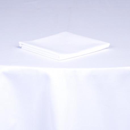Serviettes gamme Blanc et couleurs