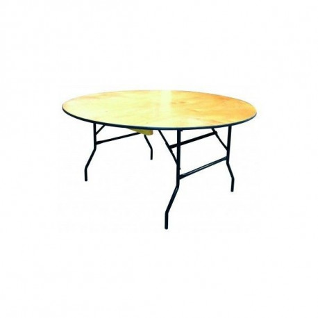 Table bois diamètre 120 cm