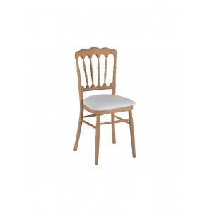 Chaise Napoleon bois