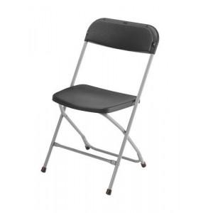 chaise clip clap noire loca reception