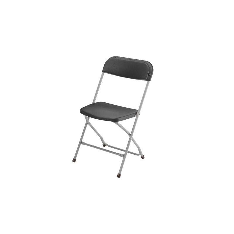 Chaise clip clap noire