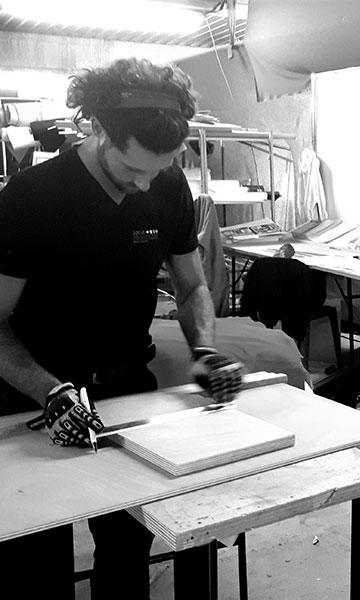 Atelier de conception meubles sur mesure
