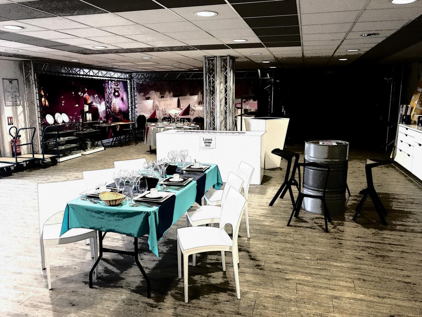 Showroom de locareception agence paris-sud